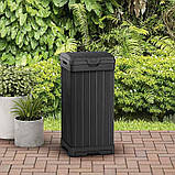 Контейнер для сміття Keter Baltimore Waste Bin 125 L, фото 8