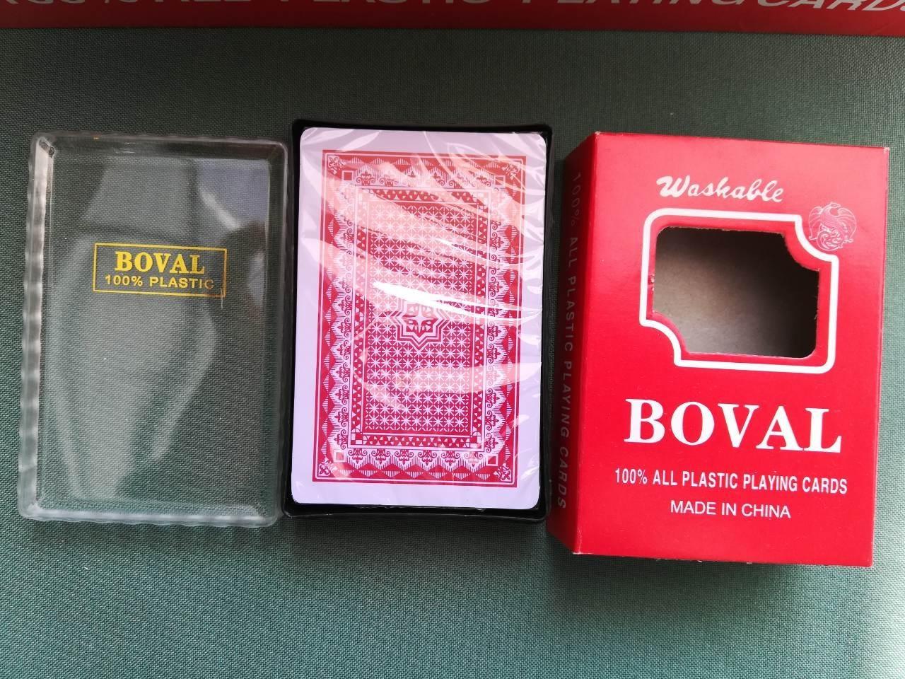 """Игральные карты """"Boval"""" (колода на 54 карт)"""