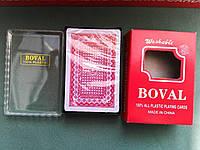 """Игральные карты """"Boval"""" (колода на 54 карт), фото 1"""