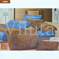Комплект постільної білизни РАНФОРС євро 9986