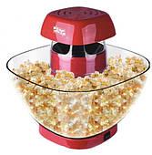 Домашняя Попкорница Красная DSP 1200 Ватт аппарат для приготовления попкорна