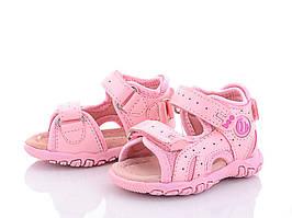 Детские босоножки Clibee для девочки ,размеры 19,23 (розовые)