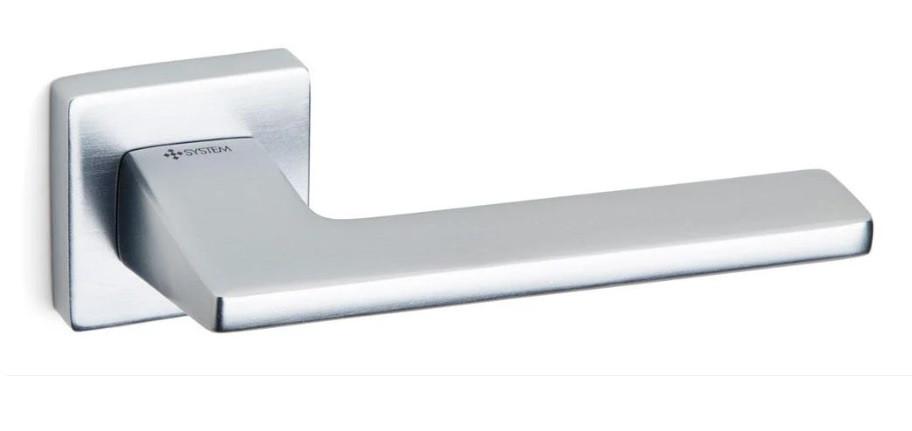 Дверні ручки System Zetta CBMX - матовий хром браш