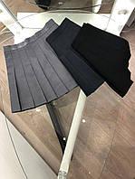 Женская короткая юбка плиссе L