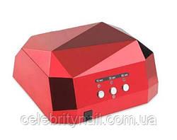 Лампа для маникюра  CCFL+LED  Lilly Beaute DIamond (красная), 36 Вт