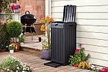 Контейнер для сміття Keter Baltimore Waste Bin 125 L, фото 10