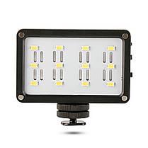 Накамерный свет Ulanzi Cardlite с 12 светодиодами и двумя светофильтрами для смартфонов экшн камер 1/4 дюйма, фото 3