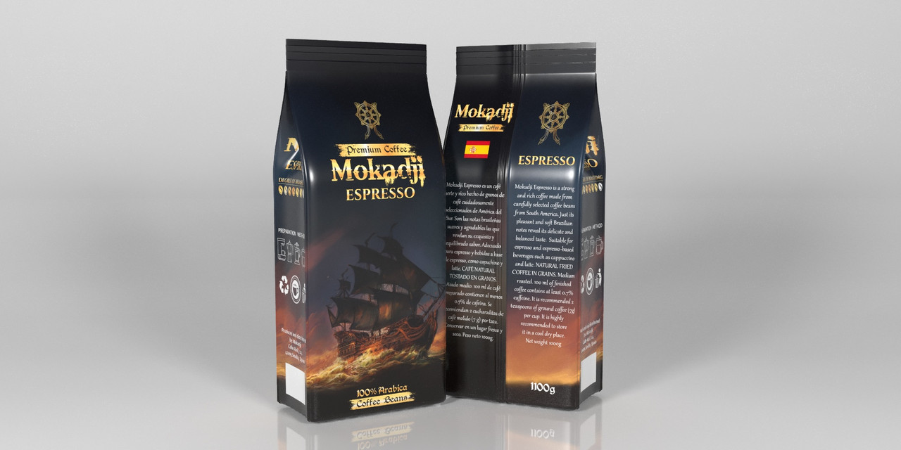 Mоkadji Espresso 1100 р. зерно