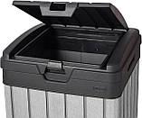 Контейнер для мусора Keter Rockford Waste Bin 125 L, фото 4