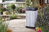 Контейнер для мусора Keter Rockford Waste Bin 125 L, фото 8