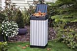Контейнер для мусора Keter Rockford Waste Bin 125 L, фото 7