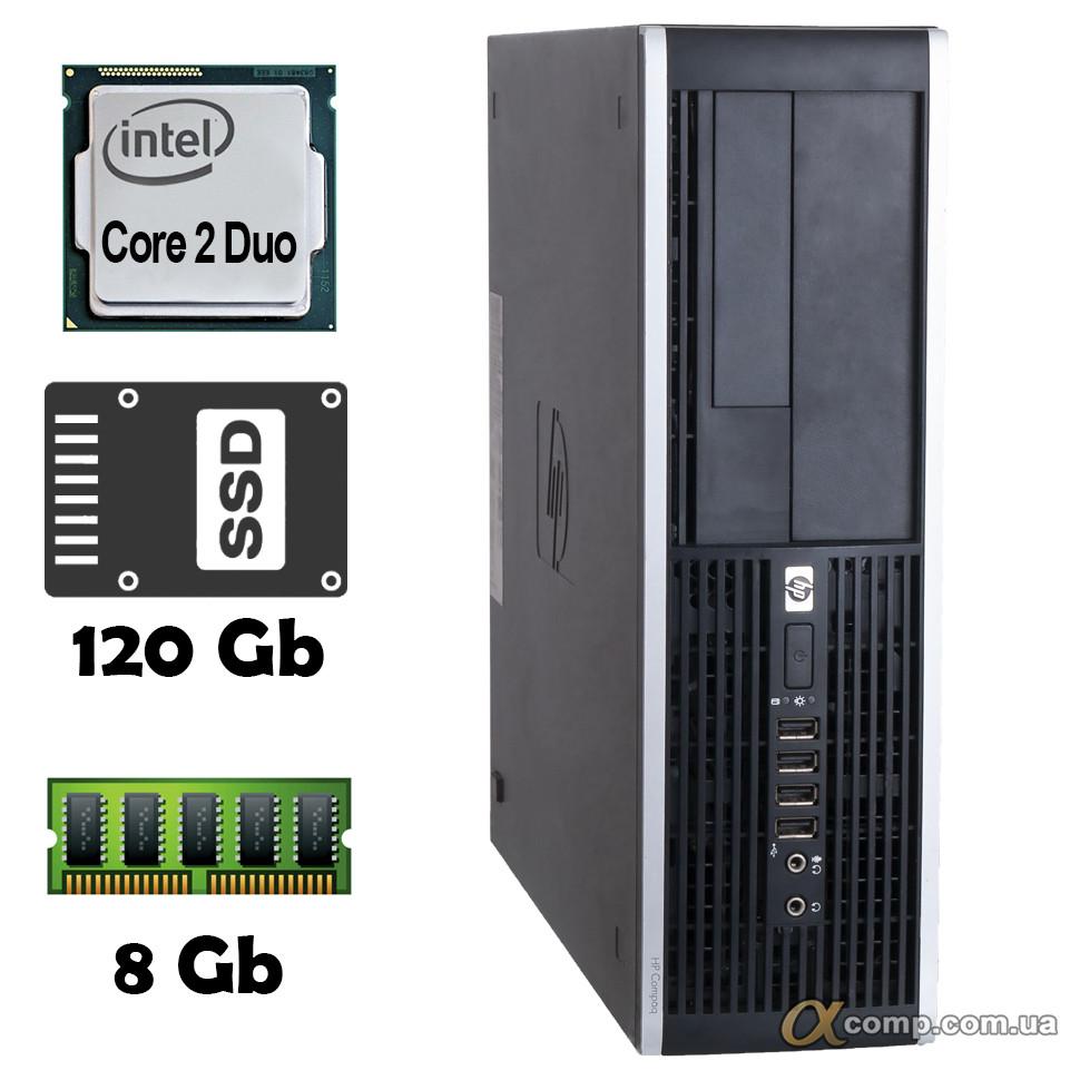 Компьютер HP 6000 (Core2Duo E8200/8Gb/ssd 120Gb) desktop БУ