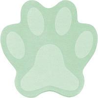 Блок паперу з клейким шаром Paw зелена, 70x70мм,50 арк.