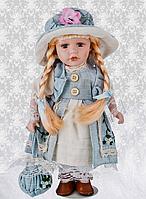 Кукла фарфоровая, декоративная Бетти 30 см RF-Collection