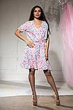 Платье летнее цветное и пышной юбкой, четыре цвета, р.46-48,50-52 Код 1020В, фото 5