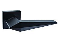 Дверна ручка ORO&ORO MATRIX 074-15E Black чорний матовий