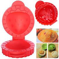 """Форма для кекса """"Клубничка"""" N01332 пластик, товары для кухни из силикона, формы для выпечки, посуда, силиконовая форма"""