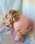 Хвост короткий пышный на крабе пшеничный BABY-24В, фото 4