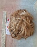 Хвост короткий пышный на крабе пшеничный BABY-24В, фото 6