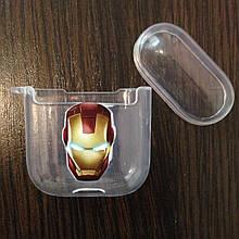 Чехол для AirPods Silicone Iron Man 2