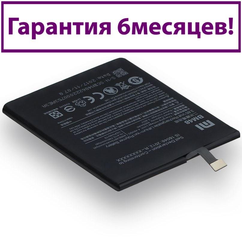 Акумулятор для Xiaomi Mi Note 2 BM48 (AAA) 4000мА/год (акумулятор, батарея)