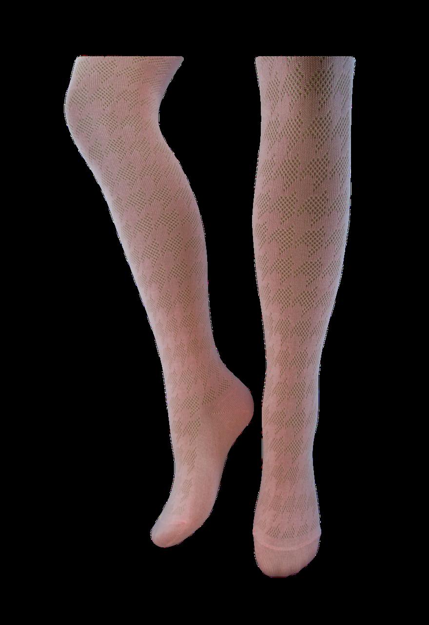 Колготки детские Легка Хода Светло розовый, Размер 104-110 / 4-5 лет