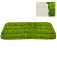 Запаска для швабры - полотера Blackberry размер 40х12см, полиэстер, зеленая, швабра для уборки, Швабра, Уборочны инвентарь
