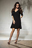 Свободное платье А силуэта средней длины 9 цветов, р.46-48,50-52  Код 1018В, фото 3