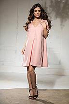 Вільне плаття А-силуету середньої довжини 9 кольорів, р. 46-48,50-52 Код 1018В, фото 3