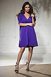 Свободное платье А силуэта средней длины 9 цветов, р.46-48,50-52  Код 1018В, фото 6