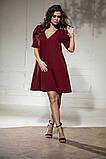 Свободное платье А силуэта средней длины 9 цветов, р.46-48,50-52  Код 1018В, фото 7