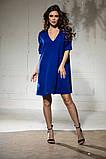 Свободное платье А силуэта средней длины 9 цветов, р.46-48,50-52  Код 1018В, фото 8