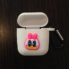 Чехол для AirPods Silicone 3D Duck
