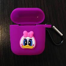 Чехол для AirPods Silicone 3D Duck 2