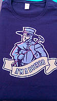 """Футболка на тему коронавірусу """"Чумний лікар"""". Друк на футболках, фото 1"""