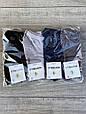 Шкарпетки бамбукові підліткові Montebello для хлопчиків з буквою М 5,7,9,11 років 12 шт в уп мікс 4 кольорів, фото 2