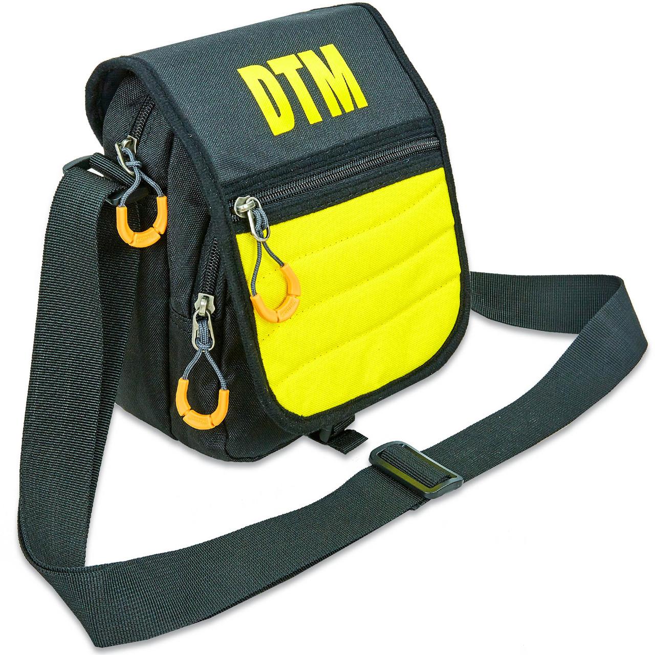 Сумка вертикальная маленькая через плечо DTM (полиэстер, р-р 15,5х19х9см, цвета в ассортименте)