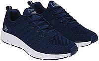 Летние мужские кроссовки сетка лето повседневные модные молодежные прочные синие 43 размер Restime 21121 2021
