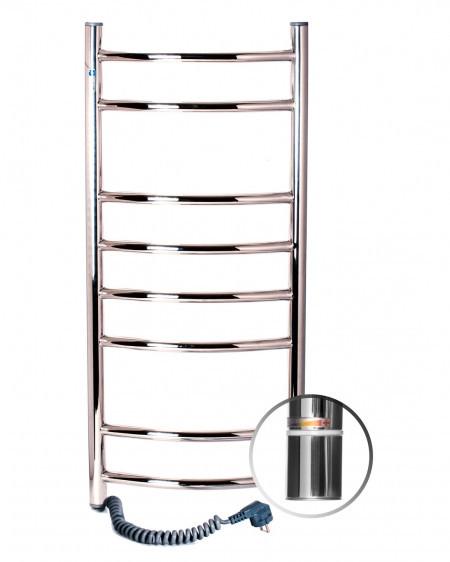 Електричний полотенцесушитель NAVIN Камелія 360х800 лівий з терморегулятором (10-007121-3680)