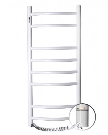 Электрический полотенцесушитель NAVIN Камелия 360х800 левый с терморегулятором (12-007131-3680)