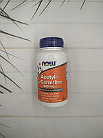 Now Foods Acetyl  L-Carnitine 50 veg caps 500 mg