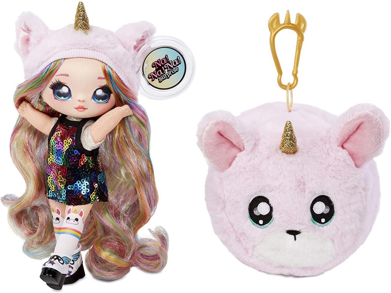 Кукла На На На сюрприз Конфетити Na! Na! Na! Surprise 2-in-1 Fashion Doll & Plush Pom MGA