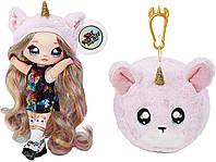 Кукла На На На сюрприз Конфетити Na! Na! Na! Surprise 2-in-1 Fashion Doll & Plush Pom MGA, фото 1