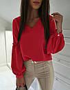 """Розкішна блуза з об'ємними рукавами """"Адель"""", фото 4"""