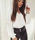 """Розкішна блуза з об'ємними рукавами """"Адель"""", фото 3"""