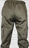 Брюки камуфляжные Карго Хаки демисезонные на манжетах, 46 р и др., фото 2