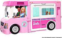 Игровой набор Барби Кемпер-трансформер для путешествий Barbie 3-in-1 DreamCamper Vehicle GHL93