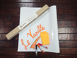 Маркерная пленка белая Le Vanille 1.2 м ширина