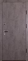 Входная металлическая дверь ДМ-3 бетон темный/бетон светлый