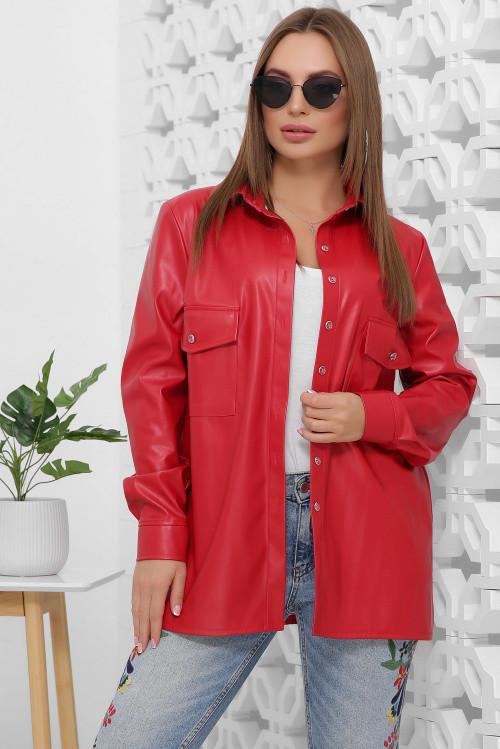 Рубашка 1855 красный